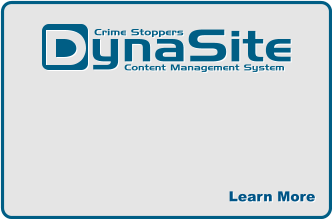 ynaSite Content Management System  Crime Stoppers  Learn More